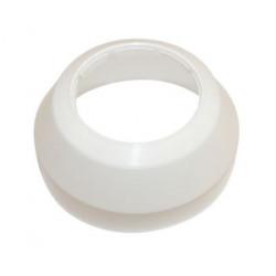 Vægroset Hvid 50mm