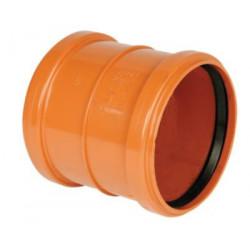 PVC skydemuffe 110mm. Med...