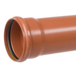 PP kloakrør 110x1000mm SN8...