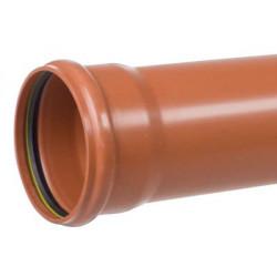 PP kloakrør 110x2000mm SN4
