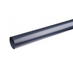 Nedløbsrør Grafit 75mm