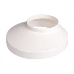 Brøndkrave Hvid 90mm