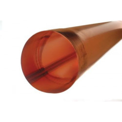 Nedløbsrør 0,7-87mm 2m Kobber