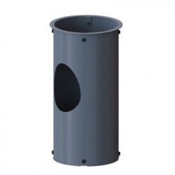 NBE kort ben til silo, grå