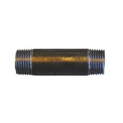 Nippelrør sort 1/2 500 mm