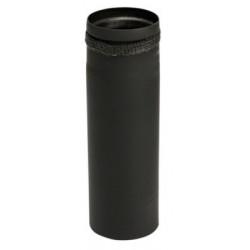 MB Sorte røgrør 80mm 25mm...