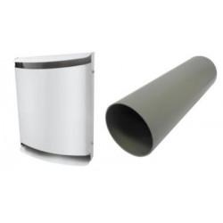 Bosch Skærmsæt hvid metal