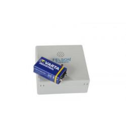 Fugtalarm med 9v Batteri