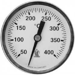 Røggastermometer 51mm...