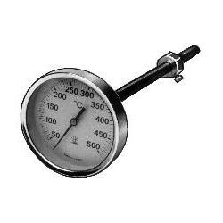 Røggastermometer 83mm...
