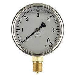 Manometer 100mm 1/2...