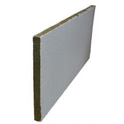Brandplade 600x600x50mm