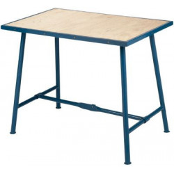 Arbejdsbord Blå 1000x625mm...
