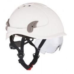 Hjelm Alpinworker hvid med...