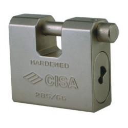 Containerlås med 2 nøgler