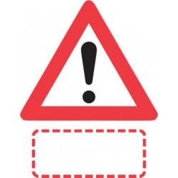 Advarselstavle Anden fare...