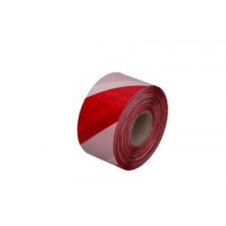 Afspærringsbånd Rød/hvid 500m