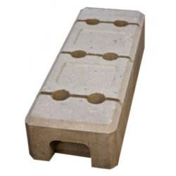 Byggepladshegn betonfod