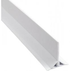 Vandspærre Hvid PVC 1000mm