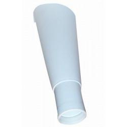 Overløbstragt 32mm Hvid