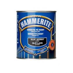 Hammerite glat sort. 750ml