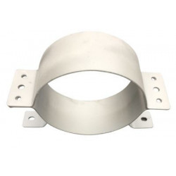 Halsjern Ø225x100x3mm stål,...