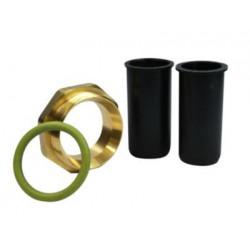 Isiflo gas-kit 25mm. Messing