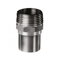 Lodde Overgangsnippel 3/4-22mm