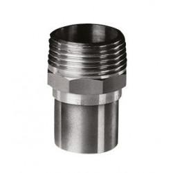 Lodde Overgangsnippel 1/2-18mm