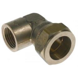 Vinkel 3/4-18mm muffe/muffe