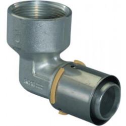 Press muffe 35mm kobber Gas...