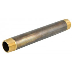 Nippelrør Messing 1-120mm