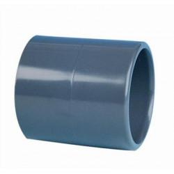 PVC muffe Lige 50mm