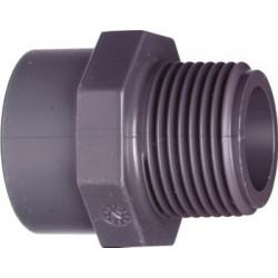PVC Overgang 1.1/2-50mm
