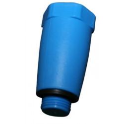 Afpropningsnippel-blå