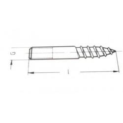 GM-X skruer til rørbærer M10