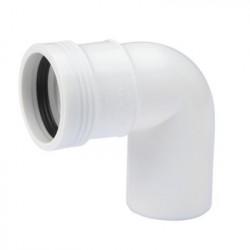 PP bøjning 40 mm. 88,5gr. Hvid